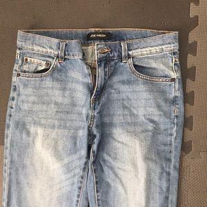 Joe fresh jeans.